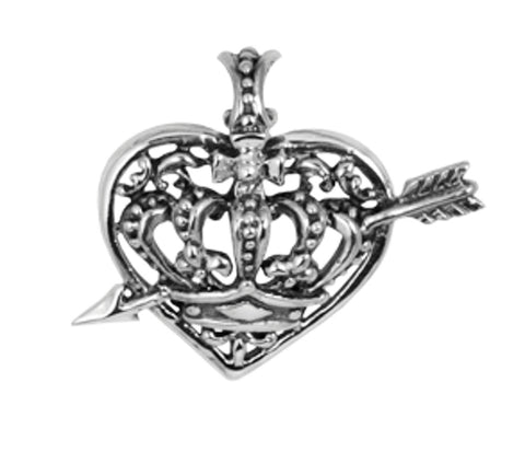 IMMACULATE HEART PENDANT w/ CUPID ARROW