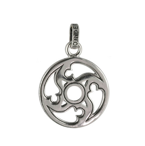 EASTERN STAR COIN PENDANT