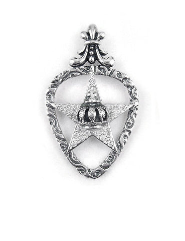 STARCHILD PENDANT w/ PAVÉ DIAMONDS