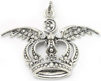 WINGED SPIRIT CROWN PENDANT