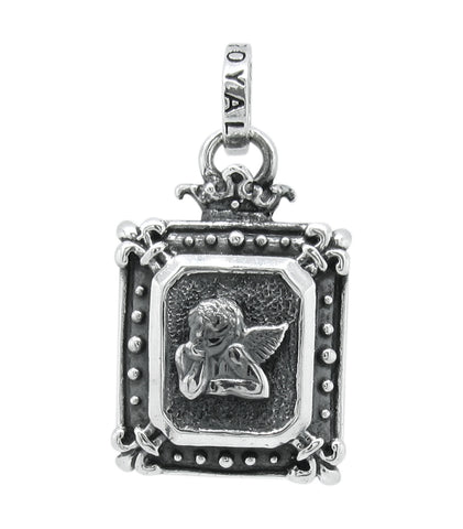 DEMI GOD SQUARE w/ SISTINE ANGEL PENDANT