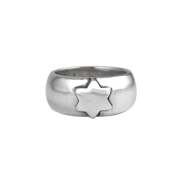SR01-1 Plain Wide Band with Star