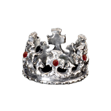 ROYAL CROWN RING w/ RUBIES OR SAPPHIRES