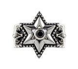 TRELLIS STAR OF DAVID RING w/ CZ