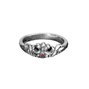 MARIE CROWN RING w/ RUBY OR SAPPHIRE