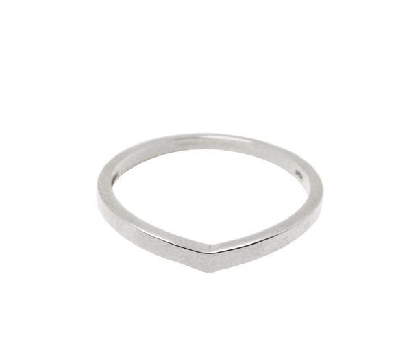 DELICATE TIARA BAND RING - PLAIN