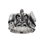 CROWN LEGEND RING