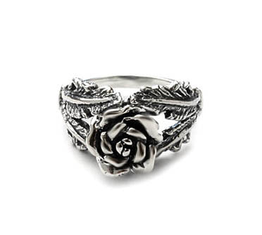 SEDONA ROSE & FEATHERS RING