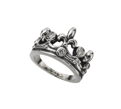 TIARA RING w/ DIAMONDS