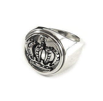 CIRCLE CROWN RING