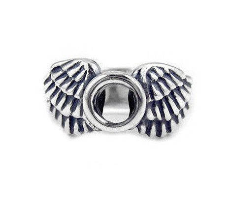 MEDIUM HALO & WINGS RING