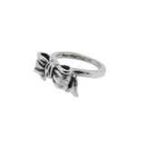 THICK TIARA BAND RING w/ PARTY BOW