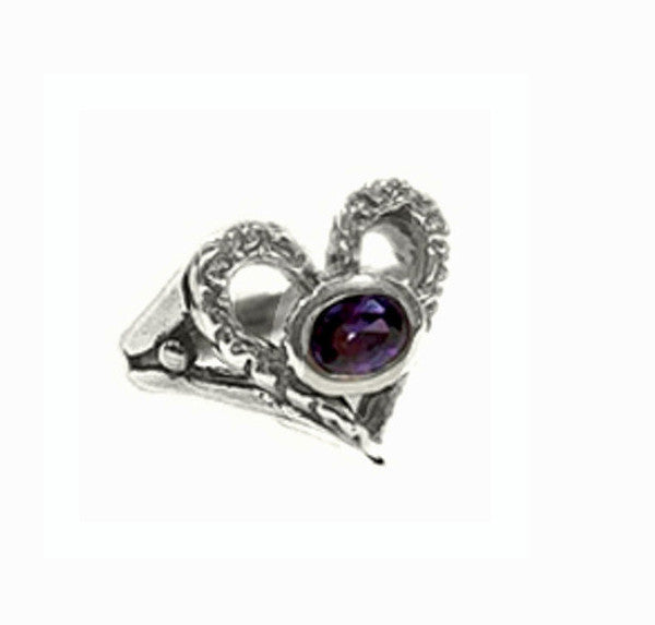 ETERNAL HEART RING w/ CZ
