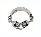 SKULL CHAIN BAND RING