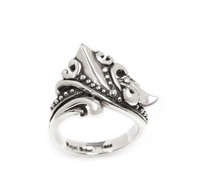 CHEVRON VINE RING