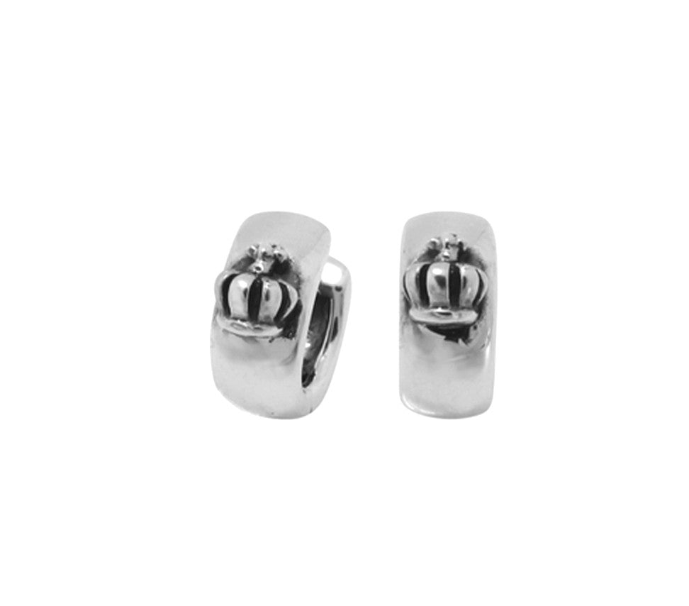 women small unique round and cute stud for silver earrings