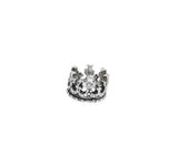 ROYAL CROWN PENDANT w/ 5 DIAMONDS