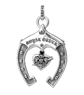 ROYAL ORDER HORSE SHOE PENDANT