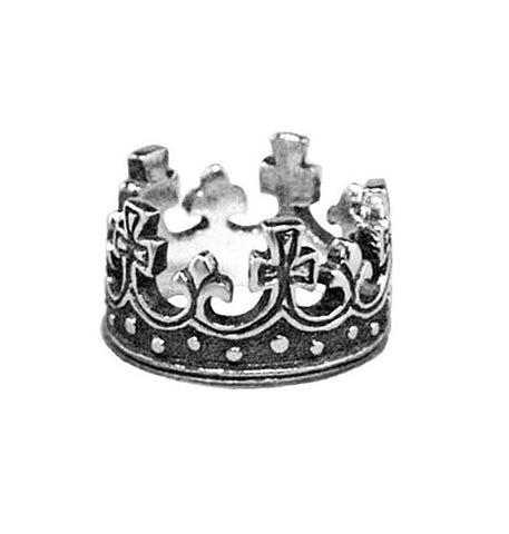 LARGE REGAL CROWN RING