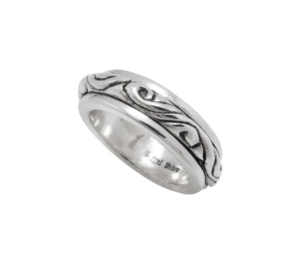 SPINNING RIBBON BAND RING