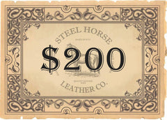 Gift Card | Steel Horse Leather Gift Card - STEEL HORSE LEATHER, Handmade, Genuine Vintage Leather