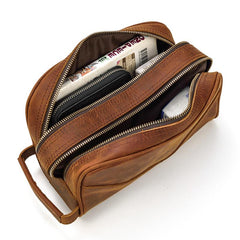 The Nomad Toiletry Bag | Genuine Leather Travel Toiletry Bag
