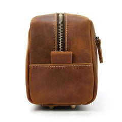 The Wanderer Toiletry Bag | Genuine Leather Toiletry Bag