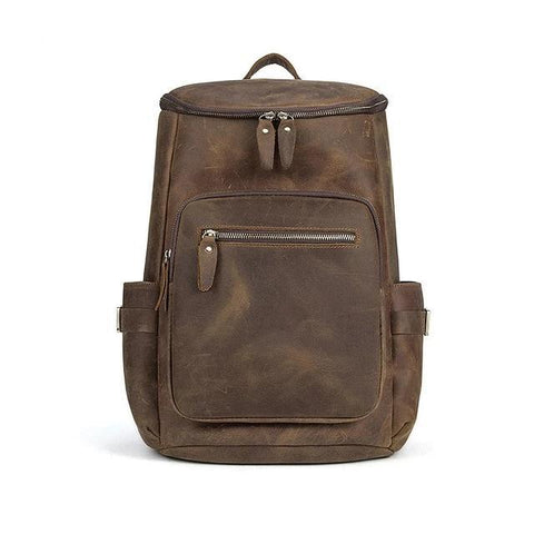 The Faulkner Backpack | Handcrafted Leather Backpack - STEEL HORSE LEATHER
