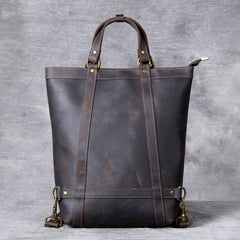 The Icarus | Handmade Vintage Leather Backpack - STEEL HORSE LEATHER, Handmade, Genuine Vintage Leather