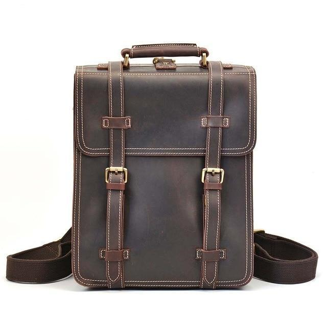 The Garth Backpack | Vintage Leather Backpack