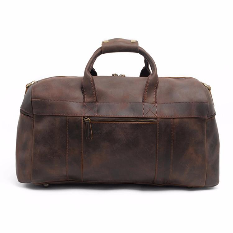 The Asta Weekender | Handcrafted Leather Duffle Bag
