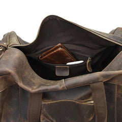 The Colden Duffle Bag | Large Capacity Leather Weekender