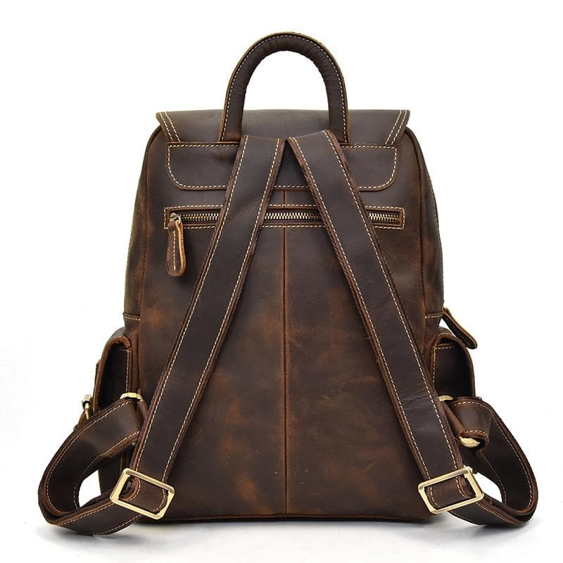 The Freja Backpack | Handcrafted Leather Backpack - STEEL HORSE LEATHER