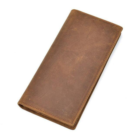 The Pathfinder Bifold Wallet | Genuine Leather Pocket Book - STEEL HORSE LEATHER