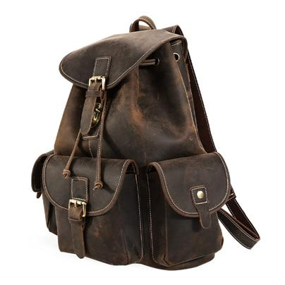 The Thorsen Backpack | Small Handmade Genuine Leather Backpack - STEEL HORSE LEATHER