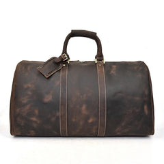 The Bjarke Weekender | Handcrafted Leather Duffle Bag