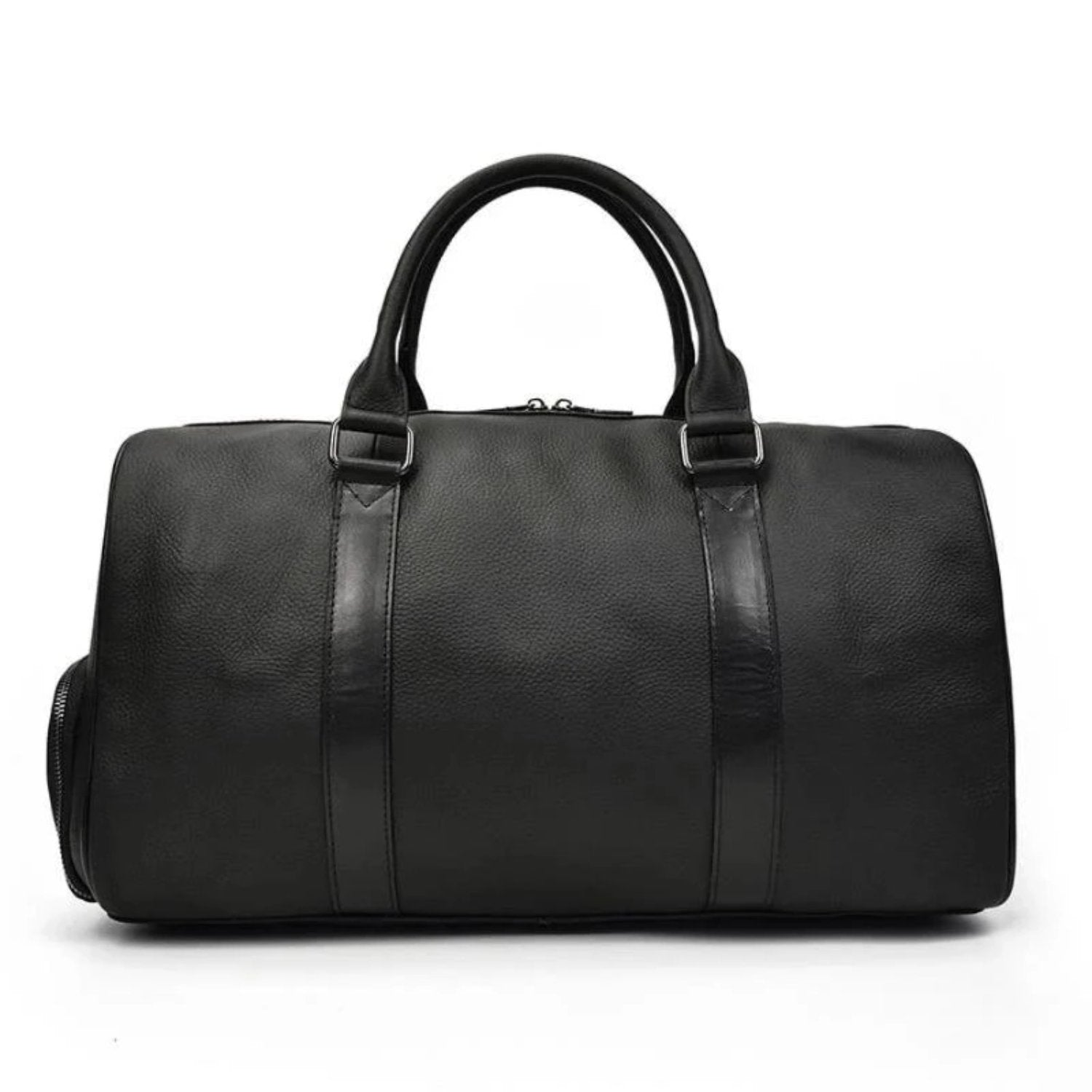The Endre Weekender | Vintage Leather Duffle Bag - STEEL HORSE LEATHER