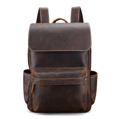 The Helka Backpack | Genuine Vintage Leather Backpack - STEEL HORSE LEATHER, Handmade, Genuine Vintage Leather