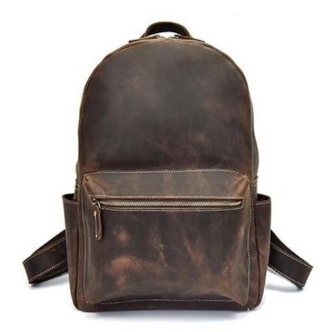 The Calder Backpack | Handcrafted Leather Backpack - STEEL HORSE LEATHER