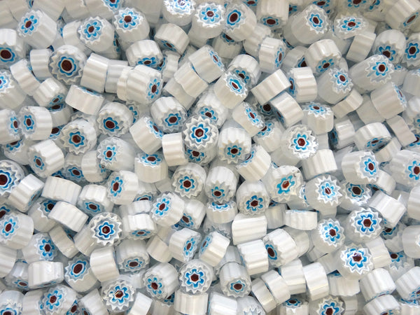 T09 White Blue Red 10-11mm