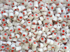 T16 White Clear Red Star 9-10mm
