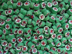 77 Green White Blue Red Cross 10-11mm