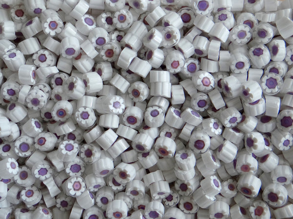 U12 White Lilac Flower 8-9mm