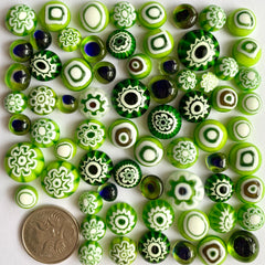 Green Cabochon Mix