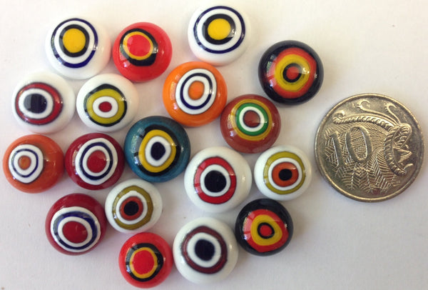 Circles Cabochon Mix
