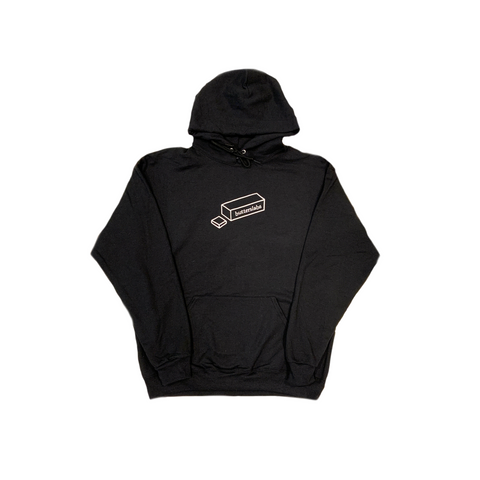 A HOLIDAY SLABS HOODIE - BLACK