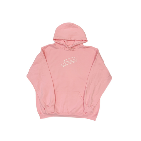 A HOLIDAY SLABS HOODIE - FLAMINGO