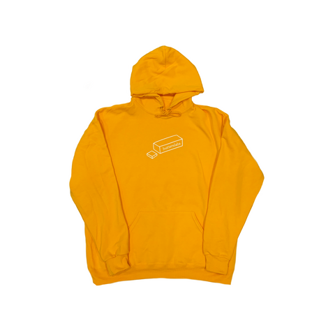 A HOLIDAY SLABS HOODIE - HONEY