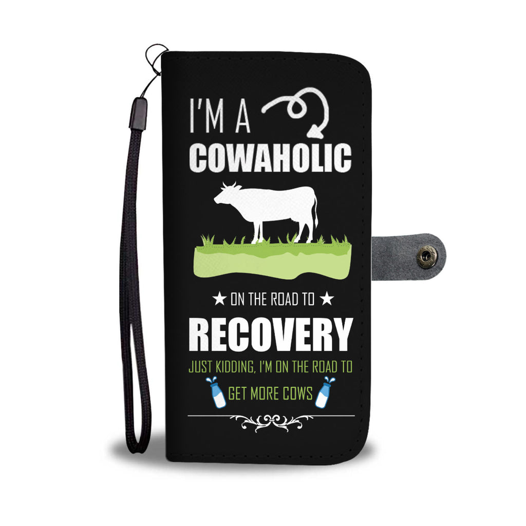 I love Cow Wallet Case