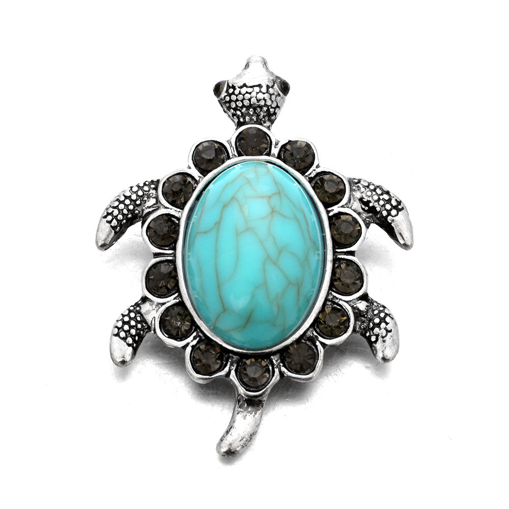 Turtle Rhinestone Bracelets Watches Women